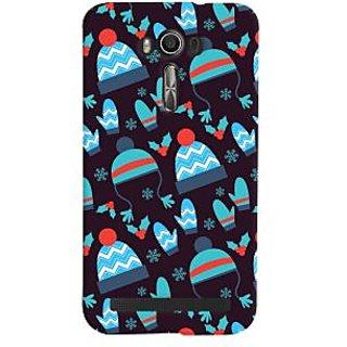 Oyehoye Winter Pattern Style Printed Designer Back Cover For Asus Zenfone 2 Laser ZE601KL Mobile Phone - Matte Finish Hard Plastic Slim Case