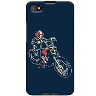 Oyehoye Bikers Or Riders Choice Printed Designer Back Cover For Blackberry Z30 Mobile Phone - Matte Finish Hard Plastic Slim Case