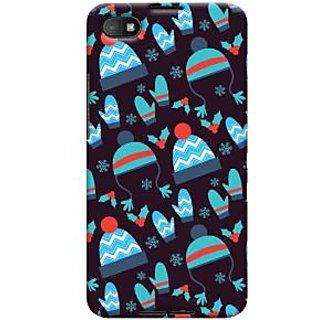 Oyehoye Winter Pattern Style Printed Designer Back Cover For Blackberry Z30 Mobile Phone - Matte Finish Hard Plastic Slim Case