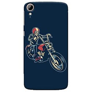 Oyehoye Bikers Or Riders Choice Printed Designer Back Cover For HTC Desire 828 / Dual Sim Mobile Phone - Matte Finish Hard Plastic Slim Case