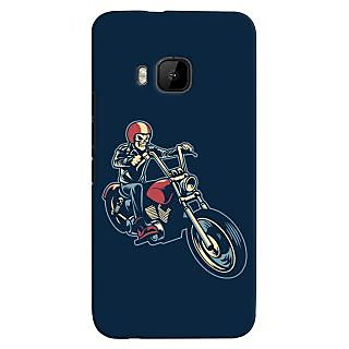 Oyehoye Bikers Or Riders Choice Printed Designer Back Cover For HTC One M9 Mobile Phone - Matte Finish Hard Plastic Slim Case
