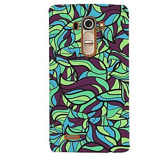 Oyehoye Modern Art Pattern Style Printed Designer Back Cover For LG G4 H818N Mobile Phone - Matte Finish Hard Plastic Slim Case