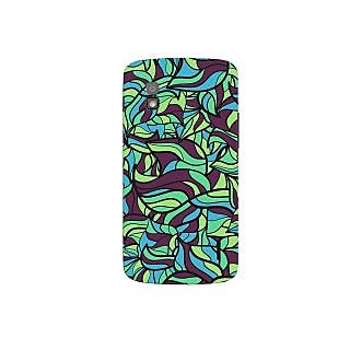 Oyehoye Modern Art Pattern Style Printed Designer Back Cover For LG Google Nexus 4 Mobile Phone - Matte Finish Hard Plastic Slim Case