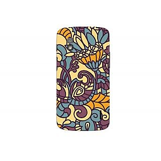 Oyehoye Floral Pattern Style Printed Designer Back Cover For LG Google Nexus 4 Mobile Phone - Matte Finish Hard Plastic Slim Case