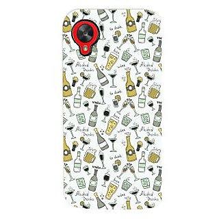 Oyehoye Patter Style Printed Designer Back Cover For LG Google Nexus 5 Mobile Phone - Matte Finish Hard Plastic Slim Case