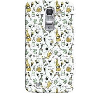 Oyehoye Patter Style Printed Designer Back Cover For LG Pro 2 / D838 Mobile Phone - Matte Finish Hard Plastic Slim Case