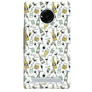 Oyehoye Patter Style Printed Designer Back Cover For Micromax Yuphoria Mobile Phone - Matte Finish Hard Plastic Slim Case