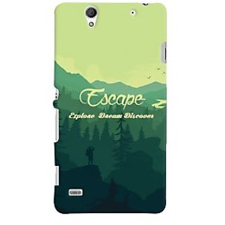 Buildphone Tpu Soft Phone Case For Sony Z5mini Multicolor Intl Source · Oyehoye Travellers Escape Printed Designer Back Cover For Sony Xperia C4 Dual Sim ...