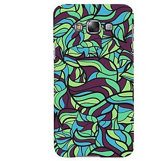 Oyehoye Modern Art Pattern Style Printed Designer Back Cover For Samsung Galaxy Grand 3 Mobile Phone - Matte Finish Hard Plastic Slim Case