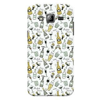 Oyehoye Patter Style Printed Designer Back Cover For Samsung Galaxy J3 (2016) Mobile Phone - Matte Finish Hard Plastic Slim Case