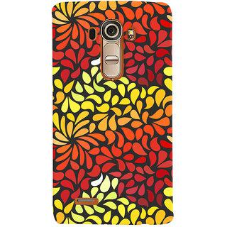 Oyehoye Pattern Style Printed Designer Back Cover For LG G4 H818N Mobile Phone - Matte Finish Hard Plastic Slim Case