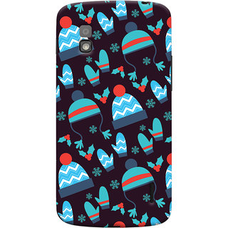 Oyehoye Winter Pattern Style Printed Designer Back Cover For LG Google Nexus 4 Mobile Phone - Matte Finish Hard Plastic Slim Case