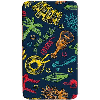 Oyehoye Holiday Pattern Style Printed Designer Back Cover For Microsoft Lumia 1320 Mobile Phone - Matte Finish Hard Plastic Slim Case