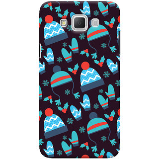 Oyehoye Winter Pattern Style Printed Designer Back Cover For Samsung Galaxy Grand Max Mobile Phone - Matte Finish Hard Plastic Slim Case