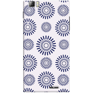 Oyehoye Pattern Style Printed Designer Back Cover For Lenovo K900 Mobile Phone - Matte Finish Hard Plastic Slim Case