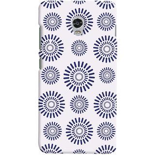 Oyehoye Pattern Style Printed Designer Back Cover For Lenovo Vibe P1M Mobile Phone - Matte Finish Hard Plastic Slim Case