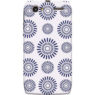 Oyehoye Pattern Style Printed Designer Back Cover For Motorola RAZR V XT889 Mobile Phone - Matte Finish Hard Plastic Slim Case