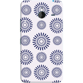 Oyehoye Pattern Style Printed Designer Back Cover For Microsoft Lumia 640 XL Mobile Phone - Matte Finish Hard Plastic Slim Case