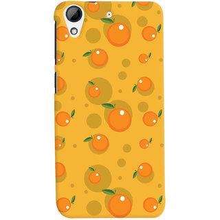 Oyehoye Fruity Pattern Style Printed Designer Back Cover For HTC Desire 626 / 626 G Plus Mobile Phone - Matte Finish Hard Plastic Slim Case