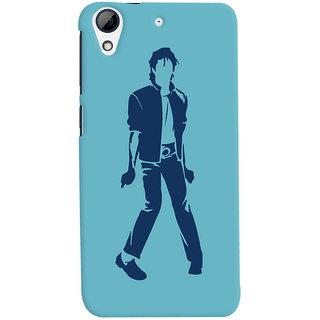 Oyehoye Michael Jackson Printed Designer Back Cover For HTC Desire 728 / 728G / Dual Sim Mobile Phone - Matte Finish Hard Plastic Slim Case