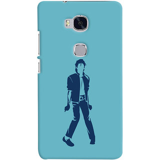 Oyehoye Michael Jackson Printed Designer Back Cover For Huawei Honor 5X / Dual Sim Mobile Phone - Matte Finish Hard Plastic Slim Case