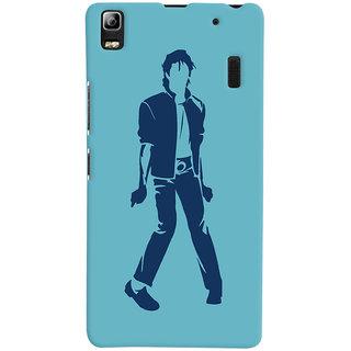 Oyehoye Michael Jackson Printed Designer Back Cover For Lenovo A7000 Mobile Phone - Matte Finish Hard Plastic Slim Case