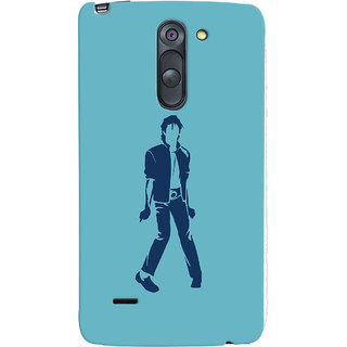 Oyehoye Michael Jackson Printed Designer Back Cover For LG G3 Stylus / Optimus G3 Stylus Mobile Phone - Matte Finish Hard Plastic Slim Case