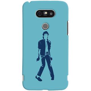 Oyehoye Michael Jackson Printed Designer Back Cover For LG G5 / Optimus G5 Mobile Phone - Matte Finish Hard Plastic Slim Case