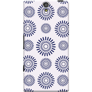 Oyehoye Pattern Style Printed Designer Back Cover For Sony Xperia S Mobile Phone - Matte Finish Hard Plastic Slim Case