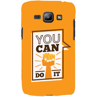 Oyehoye Motivational Quote Printed Designer Back Cover For Samsung Galaxy J1 (2016 Edition) Mobile Phone - Matte Finish Hard Plastic Slim Case