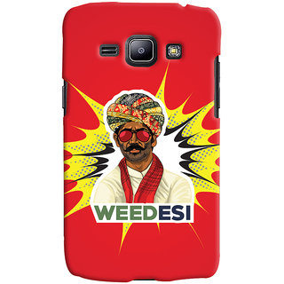 Oyehoye WEEDesi Quirky Style Printed Designer Back Cover For Samsung Galaxy J1 (2016 Edition) Mobile Phone - Matte Finish Hard Plastic Slim Case