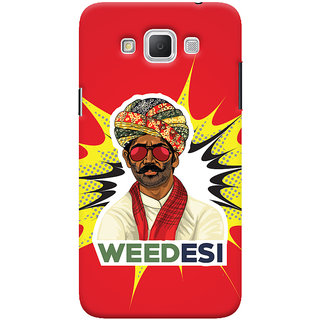 Oyehoye WEEDesi Quirky Style Printed Designer Back Cover For Samsung Galaxy Grand Max Mobile Phone - Matte Finish Hard Plastic Slim Case