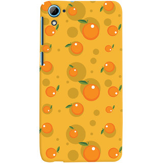 Oyehoye Fruity Pattern Style Printed Designer Back Cover For HTC Desire 826/Dual Sim Mobile Phone - Matte Finish Hard Plastic Slim Case