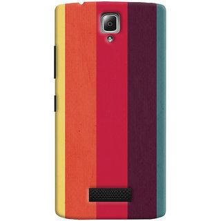 Oyehoye Colourfull Pattern Style Printed Designer Back Cover For Lenovo A2010 Mobile Phone - Matte Finish Hard Plastic Slim Case