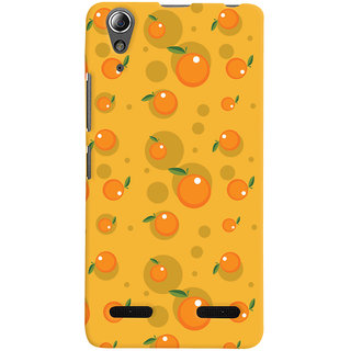 Oyehoye Fruity Pattern Style Printed Designer Back Cover For Lenovo A6000 Mobile Phone - Matte Finish Hard Plastic Slim Case