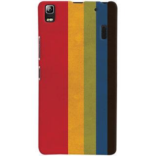 Oyehoye Colourfull Pattern Style Printed Designer Back Cover For Lenovo A7000 Mobile Phone - Matte Finish Hard Plastic Slim Case