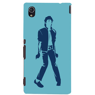 Oyehoye Michael Jackson Printed Designer Back Cover For Sony Xperia M4 Aqua - Not Dual Mobile Phone - Matte Finish Hard Plastic Slim Case