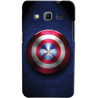 Oyehoye Captain America Printed Designer Back Cover For Samsung Galaxy Core Prime G360 Mobile Phone - Matte Finish Hard Plastic Slim Case
