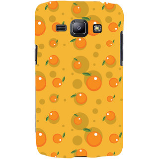 Oyehoye Fruity Pattern Style Printed Designer Back Cover For Samsung Galaxy J1 (2016 Edition) Mobile Phone - Matte Finish Hard Plastic Slim Case