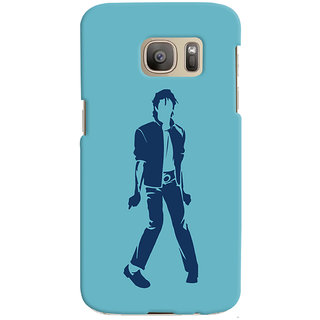 Oyehoye Michael Jackson Printed Designer Back Cover For Samsung Galaxy S7 Edge Mobile Phone - Matte Finish Hard Plastic Slim Case