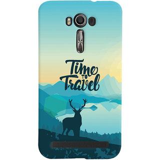 Oyehoye Travel Quote Travellers Choice Printed Designer Back Cover For Asus Zenfone 2 Laser ZE500KL Mobile Phone - Matte Finish Hard Plastic Slim Case