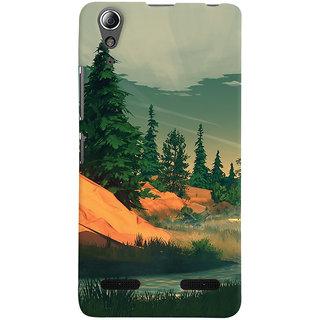 Oyehoye Nature Landscape Travellers Choice Printed Designer Back Cover For Lenovo A6000 Mobile Phone - Matte Finish Hard Plastic Slim Case