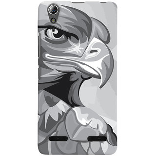 Oyehoye Animal Modern Art Printed Designer Back Cover For Lenovo A6000 Mobile Phone - Matte Finish Hard Plastic Slim Case