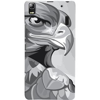 Oyehoye Animal Modern Art Printed Designer Back Cover For Lenovo A7000 Mobile Phone - Matte Finish Hard Plastic Slim Case