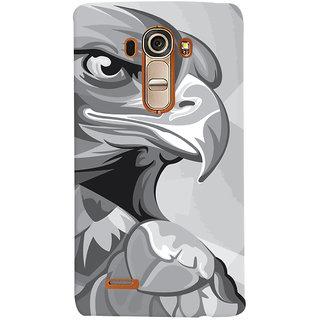 Oyehoye Animal Modern Art Printed Designer Back Cover For LG G4 H818N Mobile Phone - Matte Finish Hard Plastic Slim Case