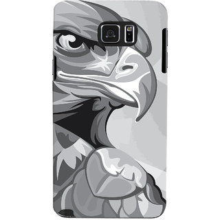 Oyehoye Animal Modern Art Printed Designer Back Cover For Samsung Galaxy Note 5 Mobile Phone - Matte Finish Hard Plastic Slim Case