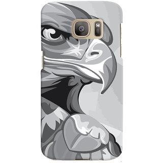 Oyehoye Animal Modern Art Printed Designer Back Cover For Samsung Galaxy S7 Edge Mobile Phone - Matte Finish Hard Plastic Slim Case