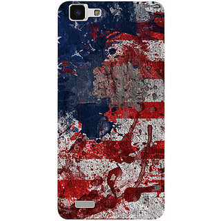 Casotec Painting American Design 3D Prited Hard Back Case Cover for vivo Y27L