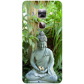 Casotec Buddhism Design 3D Printed Hard Back Case Cover for LeEco Le Max 2