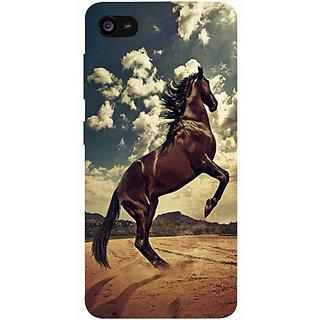 Casotec Rising Horse Design 3D Prited Hard Back Case Cover for Lenovo ZUK Z2